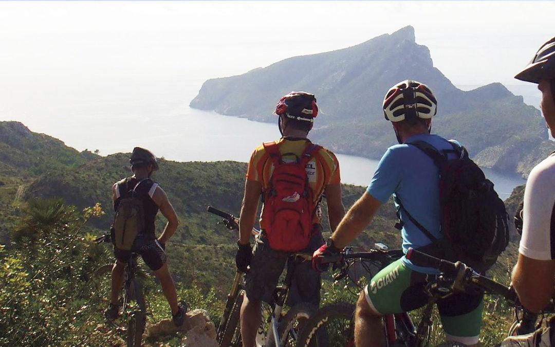Travessa Serra de Tramuntana en Mountainbike