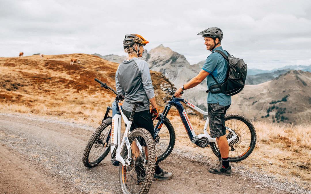 Getting to know the e-bike MTB