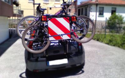 Como transportar la bicicleta en el coche